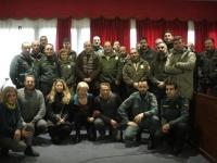 """Inauguración del curso""""Técnica forense y policial aplicada a la investigación de delitos contra la fauna"""" en el Ayuntamiento de Oliva de la Frontera, Badajoz"""