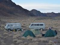 Campamento en el desierto del Gobi