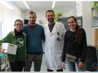 Durante la mañana de ayer 22/10/19, parte del equipo de este proyecto mantuvo un encuentro con Juan Manuel Alonso Rodríguez director del departamento de sanidad animal, Unidad de Patologías infecciosas de la facultad de Veterinaria de la Univ. Extremadura