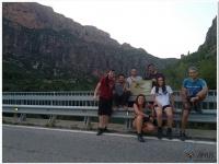 Primer grupo de participantes en el curso previo ofrecido en Lleida.