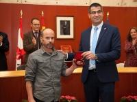 Villafranca de los Barros concede la Medalla de la Ciudad a AMUS
